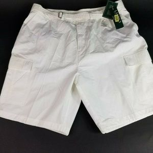 Ralph Lauren Women Sz 20W White Belt Cargo Short